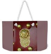 Forbidden City Door Weekender Tote Bag