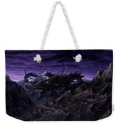 Forbidden Land Of The Beasts Descent Weekender Tote Bag