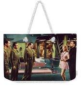 Forbidden Planet In Cinemascope Retro Classic Movie Poster Indoors Weekender Tote Bag