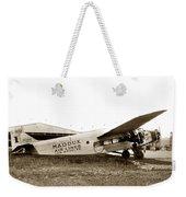 Ford 4-at-a Maddux Air Lines Los Angeles Circa 1928 Weekender Tote Bag