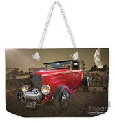 Ford Coupe Cartoon Photo Abstract Weekender Tote Bag