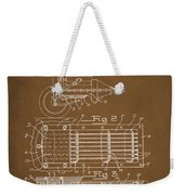 Ford Engine Lubricant Cooling Attachment Patent Drawing 1a Weekender Tote Bag