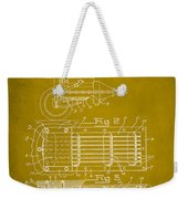 Ford Engine Lubricant Cooling Attachment Patent Drawing 1d Weekender Tote Bag