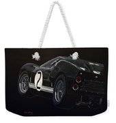 Ford Gt40 Racing Weekender Tote Bag