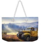 Ford In The Fog Weekender Tote Bag