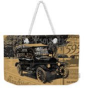 Ford Model T Made Using Found Objects Weekender Tote Bag