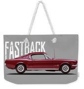 Ford Mustang Fastback 1965 Weekender Tote Bag