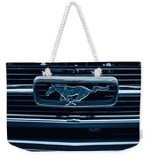 Ford Mustang Grille Weekender Tote Bag