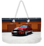 Ford Mustang Shelby Gt500 Weekender Tote Bag