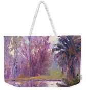 Ford Park-cloudy Morning Weekender Tote Bag