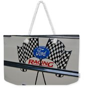 Ford Racing Emblem Weekender Tote Bag