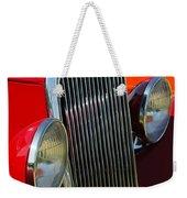 Ford Roadster Grille Weekender Tote Bag