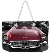 Ford Thunderbird Red V1 Weekender Tote Bag