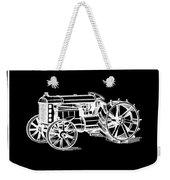 Ford Tractor Patent 1919 Black Weekender Tote Bag