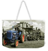 Fordson And The Threshing Machine Weekender Tote Bag