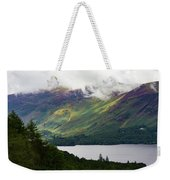 Forest And Lake Derwent Water Drama Weekender Tote Bag