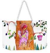 Forest Angel Weekender Tote Bag