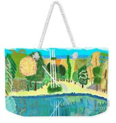 Forest At The Shore Weekender Tote Bag