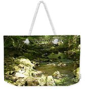 Forest Bridge Weekender Tote Bag