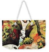 Forest Brook By August Macke Weekender Tote Bag