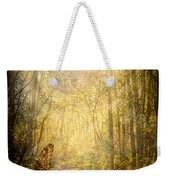 Forest Butterfly Moon Weekender Tote Bag