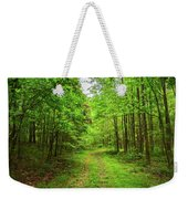 Forest Byway Weekender Tote Bag