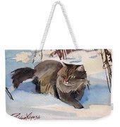 Forest Cat Weekender Tote Bag