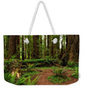 Forest Court Weekender Tote Bag