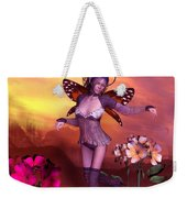 Forest Elf Dance Weekender Tote Bag