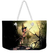 Forest Elf Weekender Tote Bag