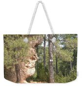 Forest Face Weekender Tote Bag