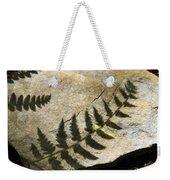 Forest Fern Shadows Weekender Tote Bag