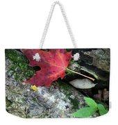 Forest Floor In Autumn Weekender Tote Bag