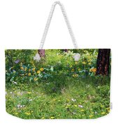 Forest Flowers Landscape Weekender Tote Bag