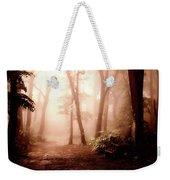 Forest Fog Weekender Tote Bag