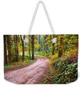 Forest Footpath Weekender Tote Bag by Carlos Caetano