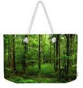 Forest Greenery Weekender Tote Bag