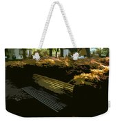 Forest Gump's Bench Weekender Tote Bag