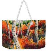 Forest In Color Weekender Tote Bag