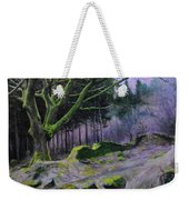 Forest In Wales Weekender Tote Bag