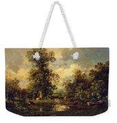 Forest Landscape 1840 Weekender Tote Bag