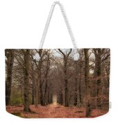Forest Lane Near Maarsbergen Weekender Tote Bag