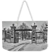 Forest Lawn Gate 4391 Weekender Tote Bag