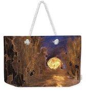 Forest Moonrise Glow Weekender Tote Bag