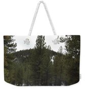 Forest Mountain Redux Weekender Tote Bag