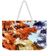 Forest Of Fall Colors Weekender Tote Bag