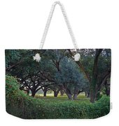 Forest Of Green Bw Weekender Tote Bag