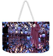 Forest Of Resonating Lamps Weekender Tote Bag