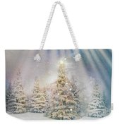 Forest Of Trees In The Light Weekender Tote Bag
