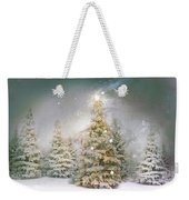 Forest Of Trees In Wintergreens Weekender Tote Bag